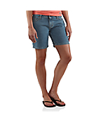 Women's Curvy-Fit Denim Short