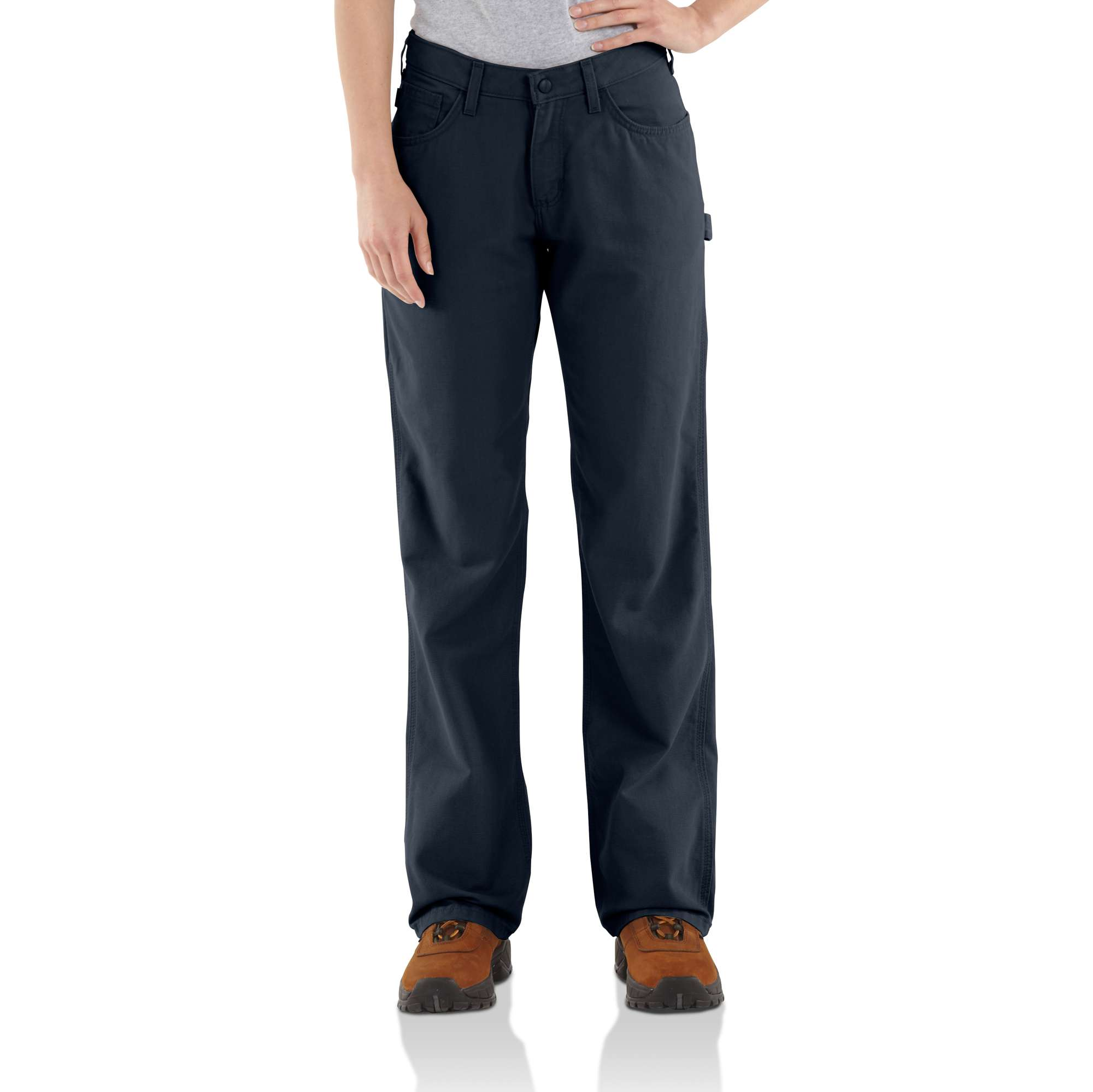 Carhartt Women Flame-resistant Loose Fit Midweight Canvas Jean | Carhartt