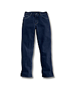 Women'PFlame-Resistant Relaxed Fit Denim Jean