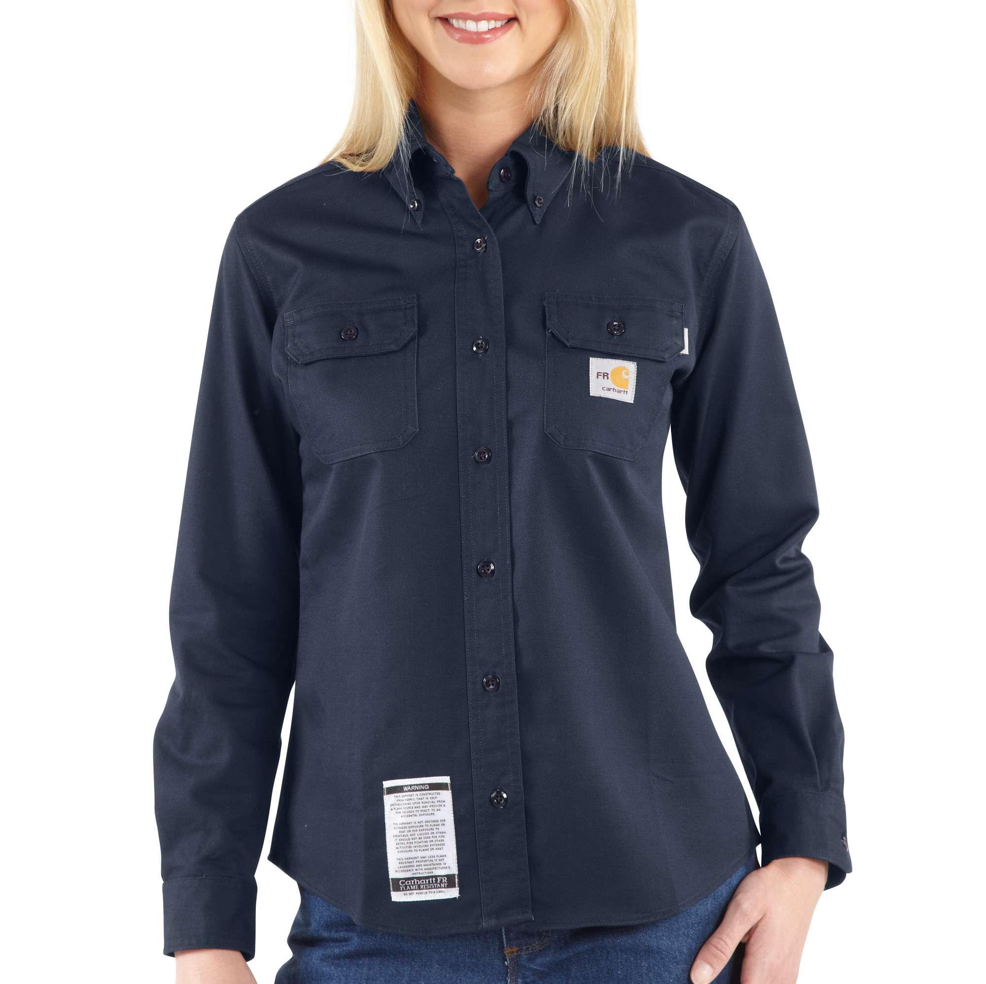 Carhartt Flame-Resistant Twill Shirt