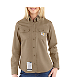 Women's  Flame-Resistant Twill Shirt