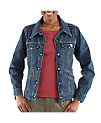 Women's Denim Jean Jacket - Unlined