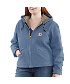 Women's Plus Sandstone Sierra Jacket/Sherpa-Lined