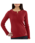 Women's Long Sleeve Henley