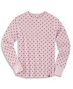 Women's C Print Waffle T-Shirt