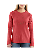 Women's Puff Logo Long-Sleeve T-Shirt