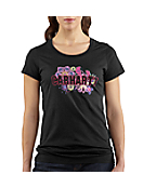 Women's Short-Sleeve Multi-Print Logo Crewneck T-Shirt