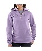 Women's Quarter-Zip Script Logo Sweatshirt
