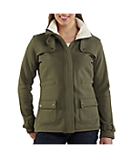 Women's Sherpa Sweat Jacket