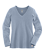 Women's Lightweight Long-Sleeve V-Neck T-Shirt
