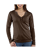 Women's Pointelle Henley