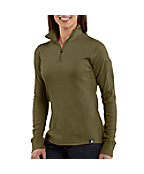 Women's Quarter-Zip Thermal Knit
