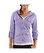 Women's Hooded Knit Jacket