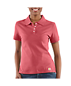 Women's Short Sleeve Work Polo