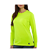 Women's  Color Enhanced Long Sleeve Work-Dry® T-Shirt