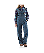 Women's Denim Bib Overall/Unlined