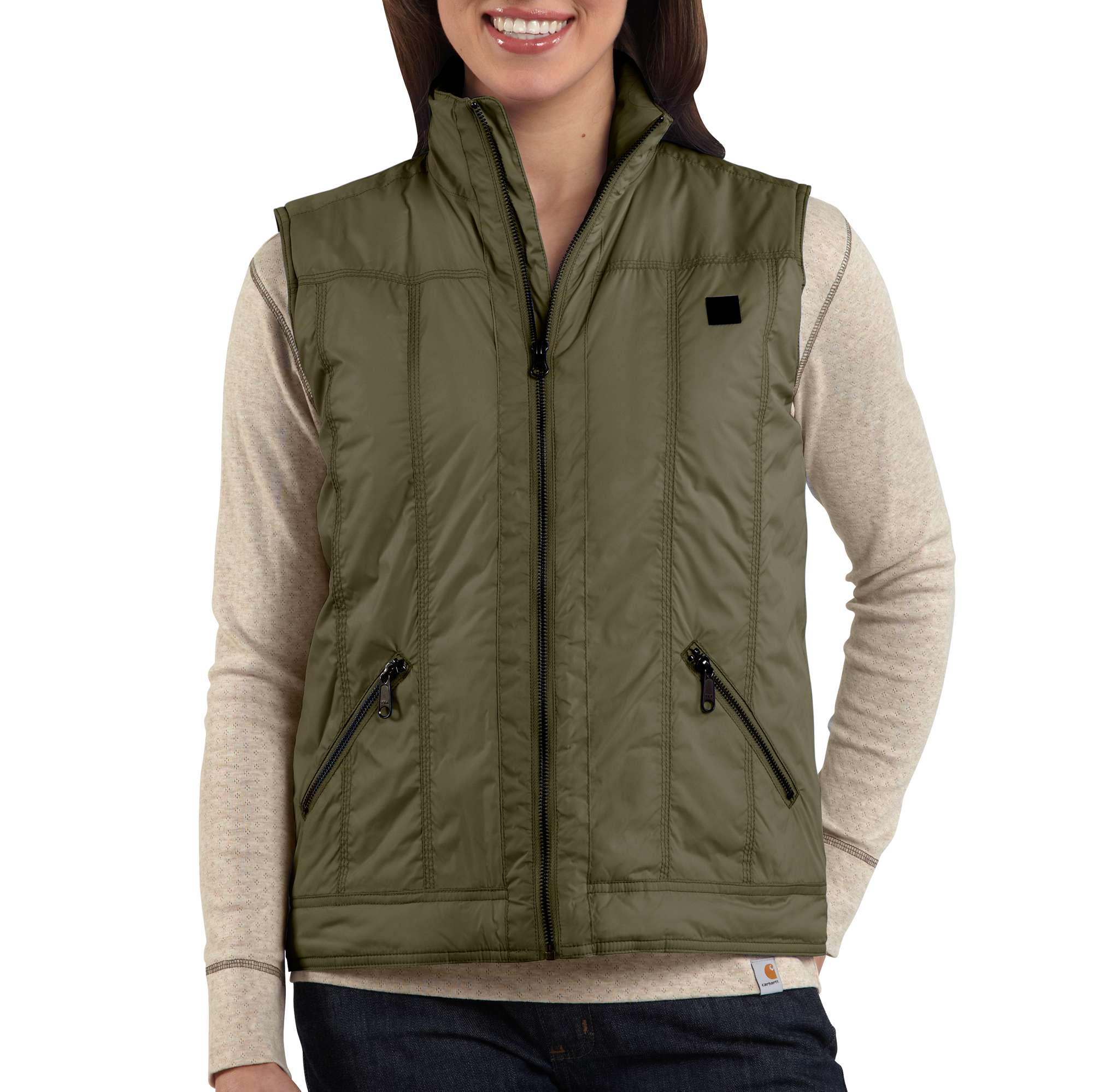 photo: Carhartt Skyline Vest synthetic insulated vest