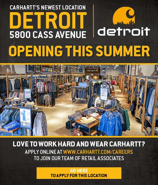 CARHARTT DETROIT RETAIL STORE - OPENING THIS SUMMER