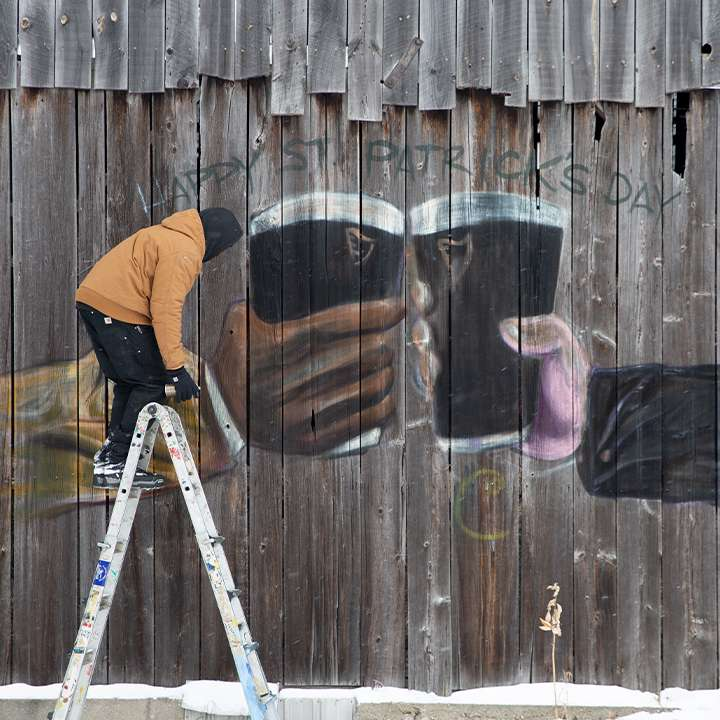 mural by Nivek Monet