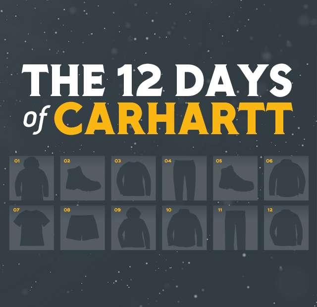 The 12 Days of Carhartt
