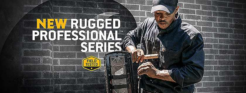 new rugged professional series
