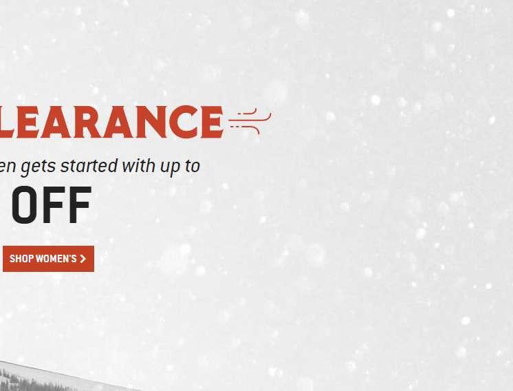 Winter Clearance Sale, Shop Womens Gear
