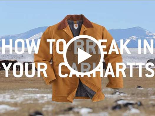 How To Break In Your Carhartts