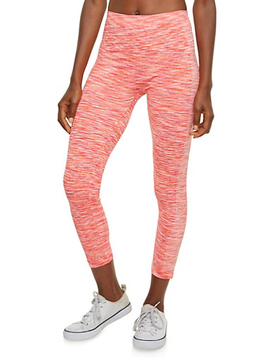 Space Dye Leggings,MANGO,large