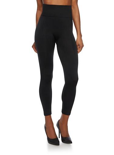 High Waisted Leggings,BLACK,large