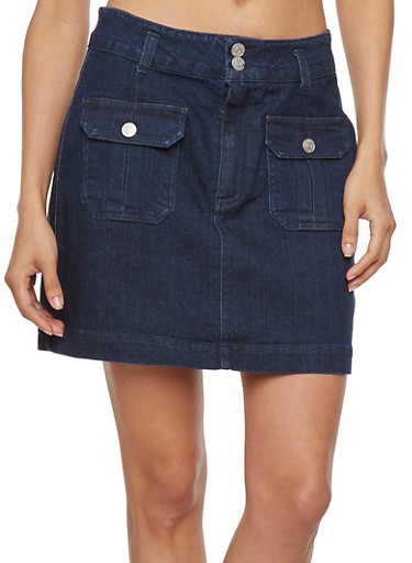 Almost Famous Denim Skirt