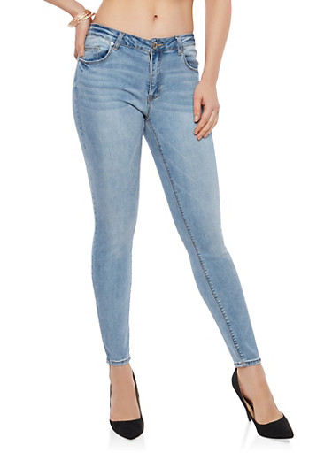 Almost Famous Skinny Jeans,RINSE,large