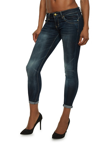 VIP Push Up Jeans in Skinny Fit,DARK WASH,large