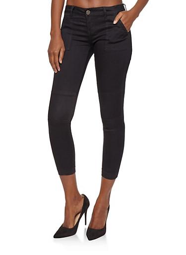 VIP Jeans Colored Jogger Pants,BLACK,large