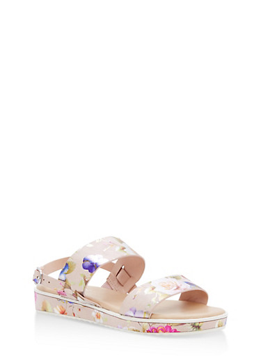 Double Strap Platform Sandals at Rainbow Shops in Jacksonville, FL | Tuggl