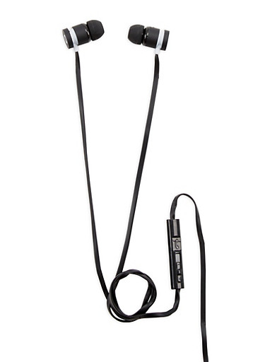 Wired Earphones,BLACK,large