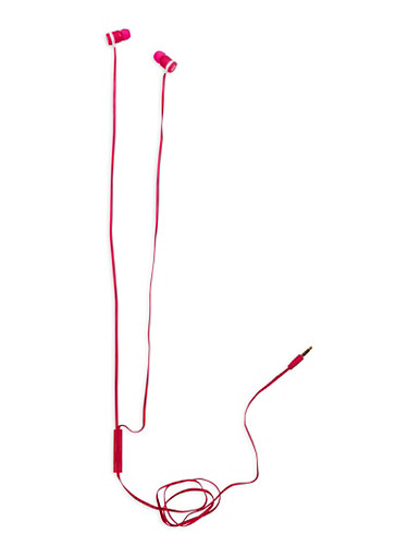 Wired Earphones,PINK,large