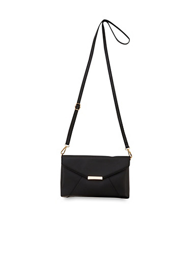 Convertible Crossbody Bag,BLACK,large