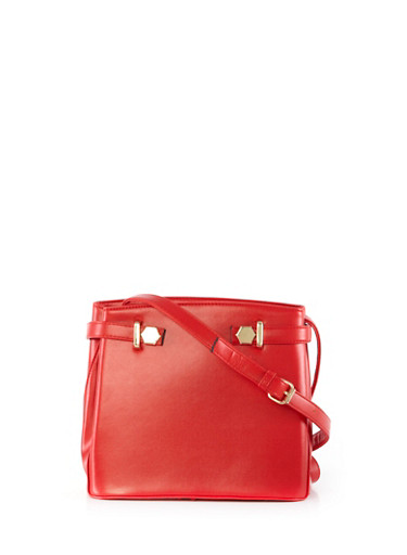 Crossbody Purse,RED,large