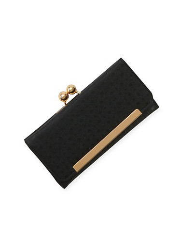 Flap Wallet with Coin Purse,BLACK,large