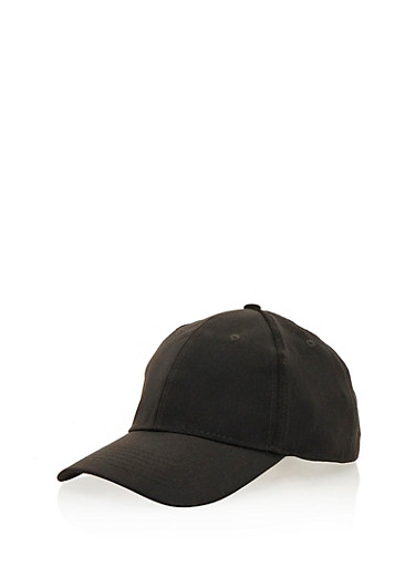 Satin Baseball Hat,BLACK,large