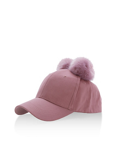 Pom Pom Ears Baseball Hat at Rainbow Shops in Jacksonville, FL | Tuggl