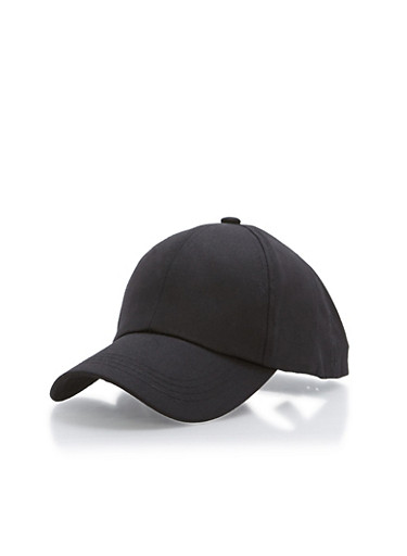 Side Zipper Baseball Hat at Rainbow Shops in Jacksonville, FL | Tuggl