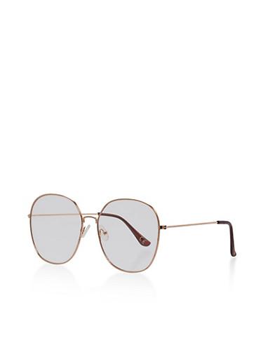 Large Round Frame Glasses,ROSE,large
