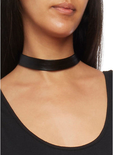 Choker Trio Set with 3 Assorted Earrings,PINK,large