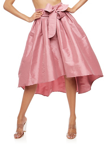 High Low Taffeta Circle Skirt at Rainbow Shops in Daytona Beach, FL | Tuggl