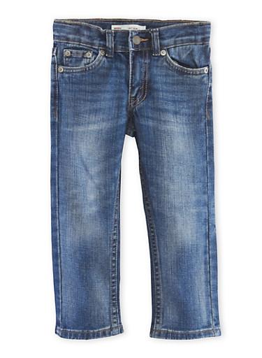 Toddler Boys Levis 511 Slim Jeans,DENIM,large
