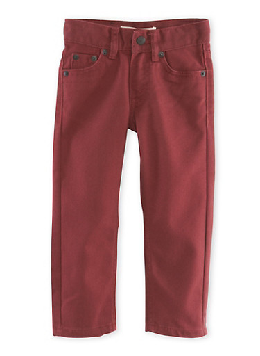 Toddler Boys Levis 511 Slim Jeans,BURGUNDY,large