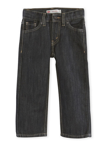 Levis Toddler Boys 514 Straight Leg Jeans,DENIM,large