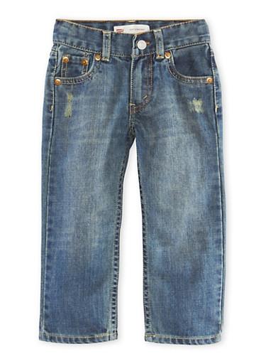 Levis 514 Toddler Boys Straight Leg Jeans,DENIM,large