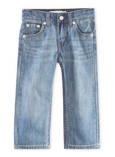 Toddler Boys Levis 505 Regular Jeans,DENIM,large